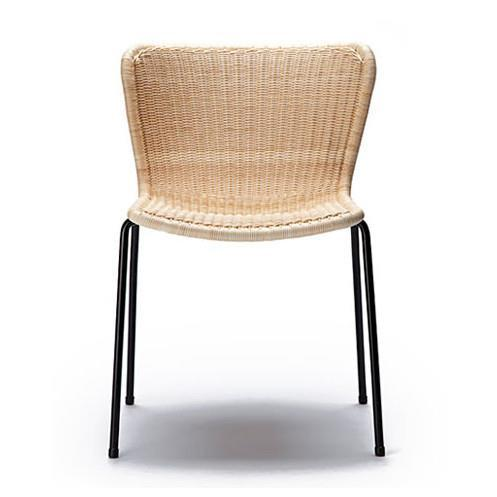 C603 Indoor / Outdoor Dining Chair by Feelgood Designs - Designed by Yuzuru Yamakawa