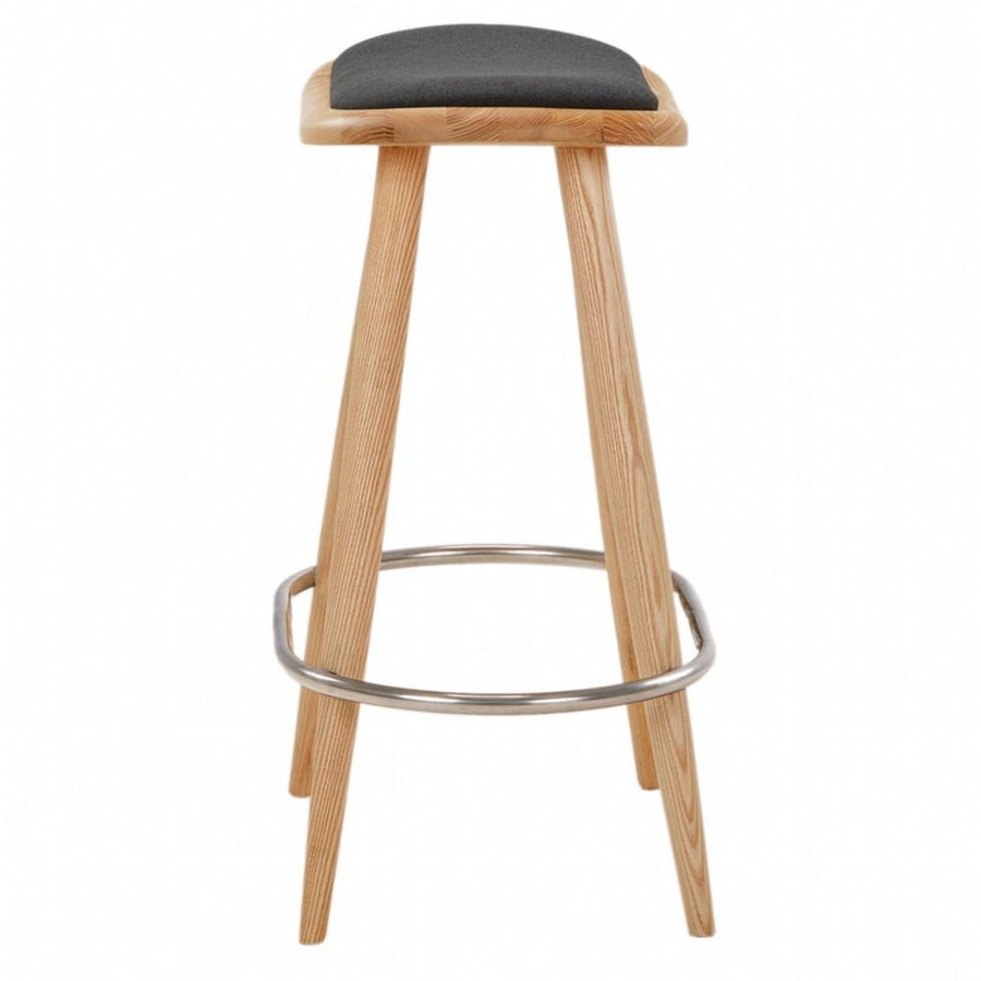 NOFU 646 Bar Stool - Black/Natural Ash