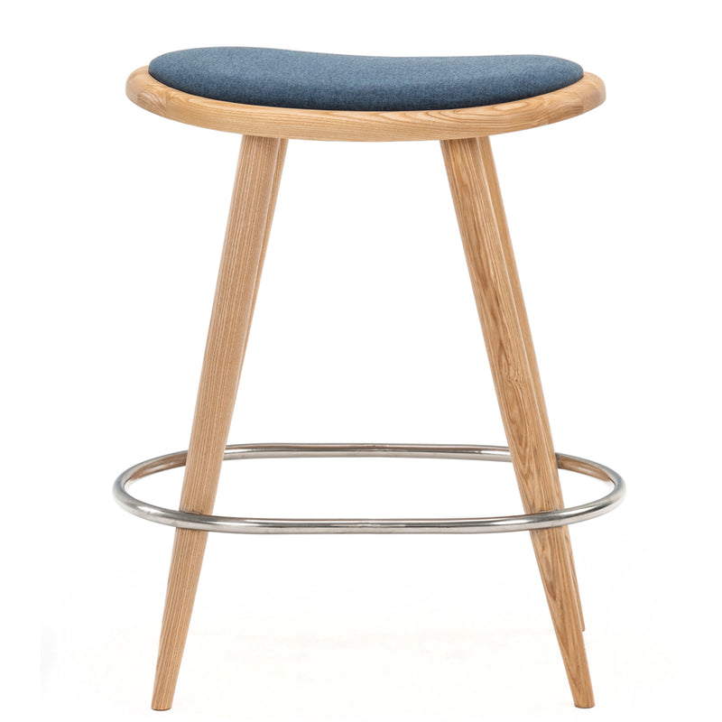 buy NOFU 646 Bar Stool - Blue/Natural Ash online