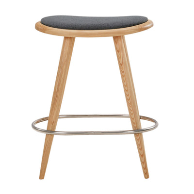 NOFU 646 Bar Stool - Slate Grey/Natural Ash
