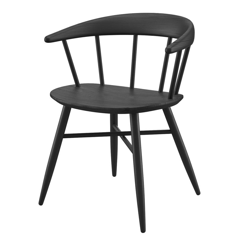 buy NOFU 651 Dining Chair - Black Ash online