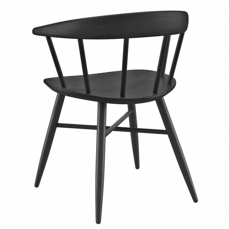 NOFU 651 Dining Chair - Black Ash