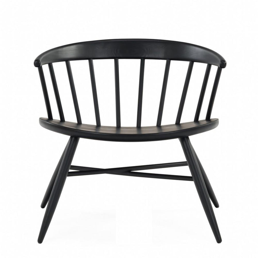 NOFU 652 Lounge Chair - Black Ash