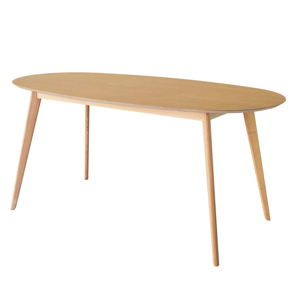 buy NOFU 653 Oval Dining Table - Natural Ash online