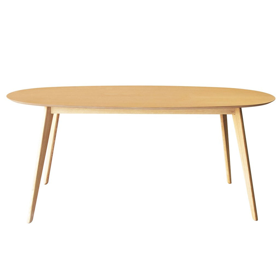 NOFU 653 Oval Dining Table - Natural Ash