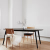 buy NOFU 653 Oval Dining Table - Black Ash online