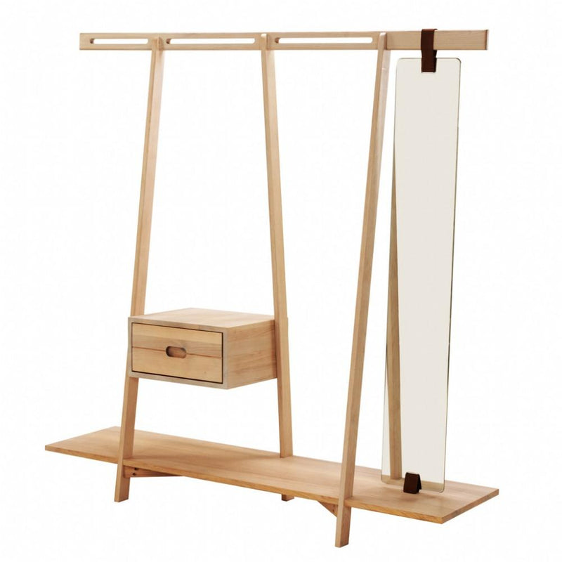 NOFU 654 Clothing Rack - Natural Ash