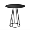 Resonate Outdoor Cafe Table in Black