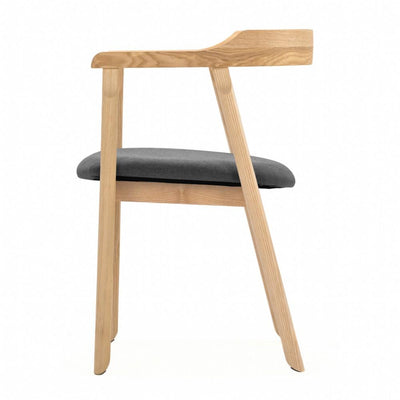 buy NOFU 737 Dining Chair - Slate Grey/Natural Ash online