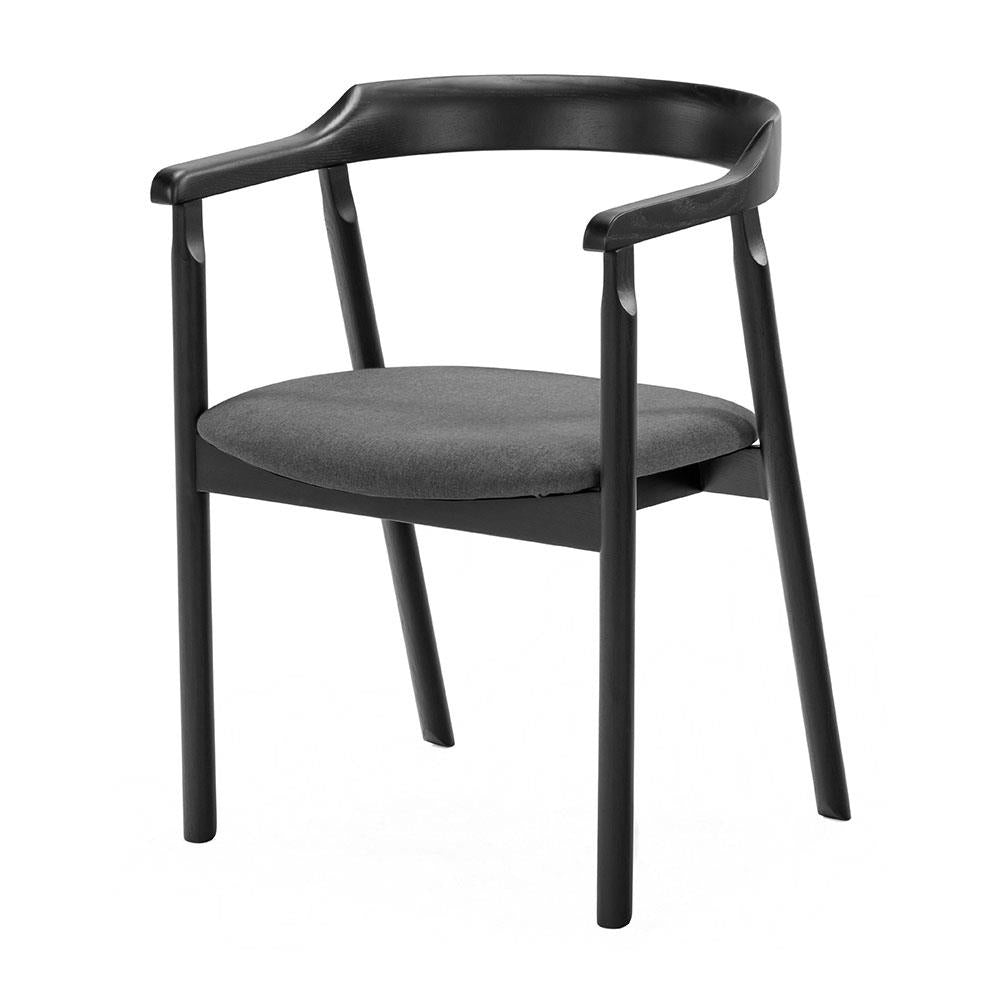 buy NOFU 737 Dining Chair - Black/Slate Grey online