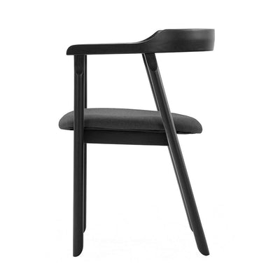 NOFU 737 Dining Chair - Black/Slate Grey