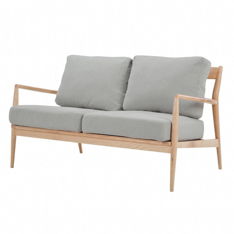 buy NOFU 805 2 Seater Sofa - Dust Grey/Natural Ash online