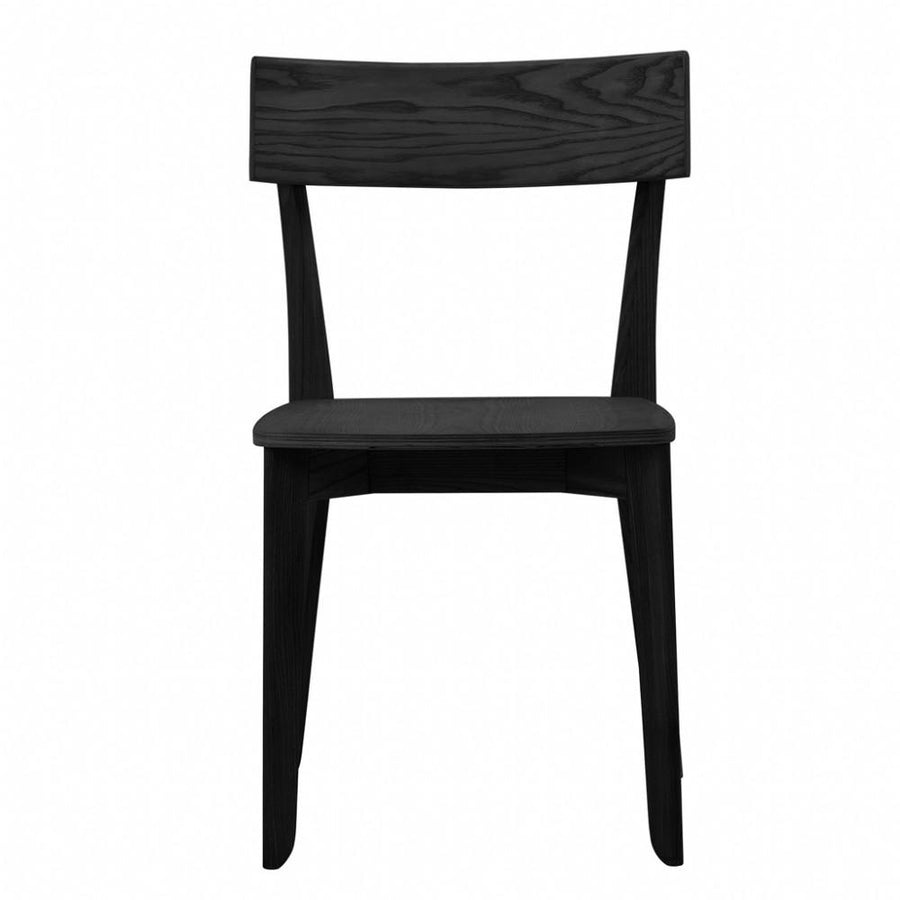 NOFU 856 Dining Chair - Black Ash