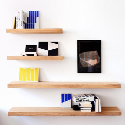buy Oak Wall Floating Shelf 140 online