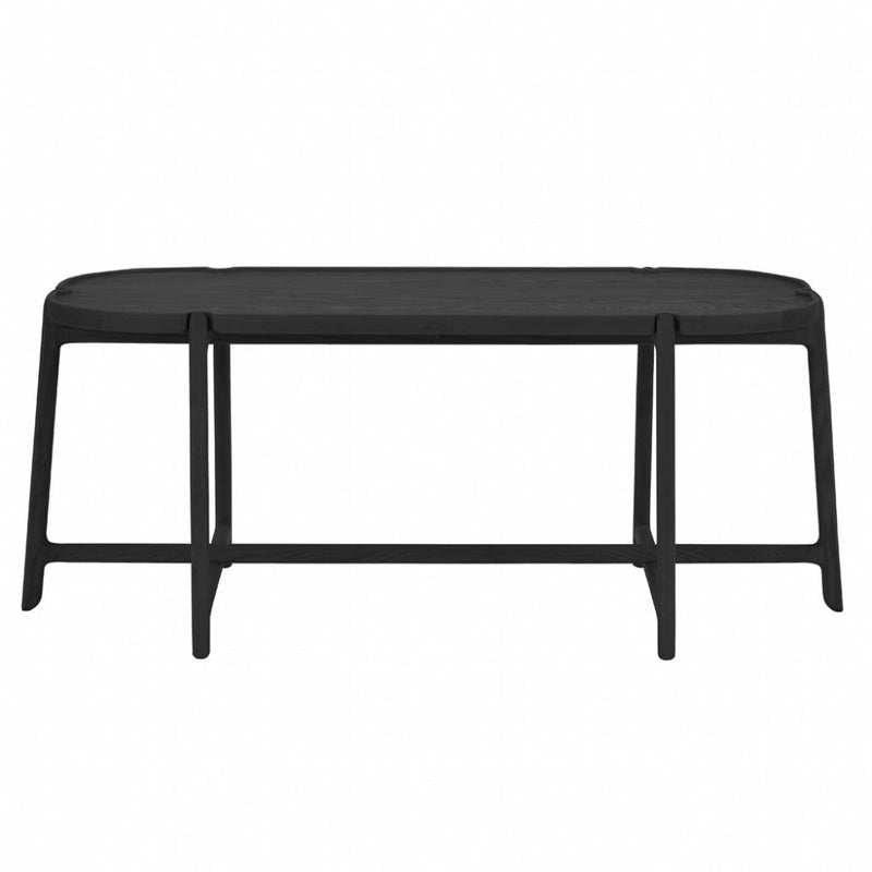 buy NOFU 910 Coffee Table - Black Ash online