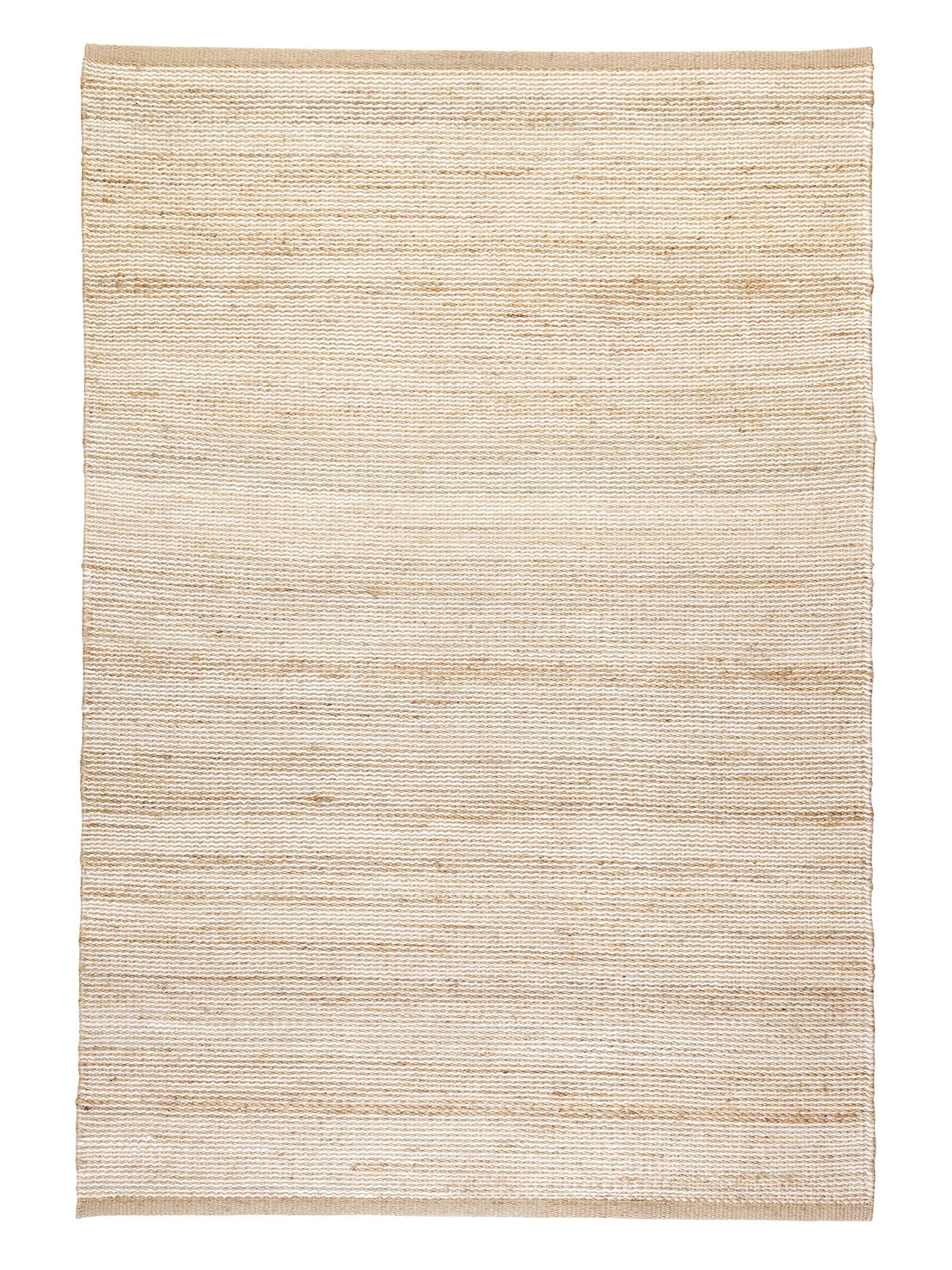 Natural and White Drift - Armadillo Floor Rug