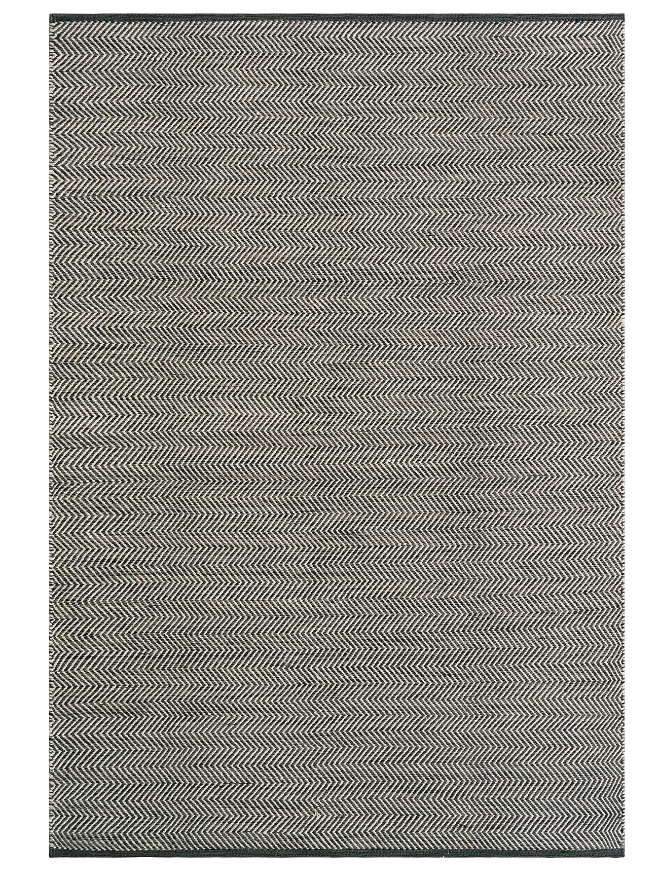 Basalt and Fog Quill - Armadillo Indoor Outdoor Rug
