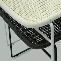C607 Outdoor Dining Chair by Feelgood Designs - Designed by Yuzuru Yamakawa