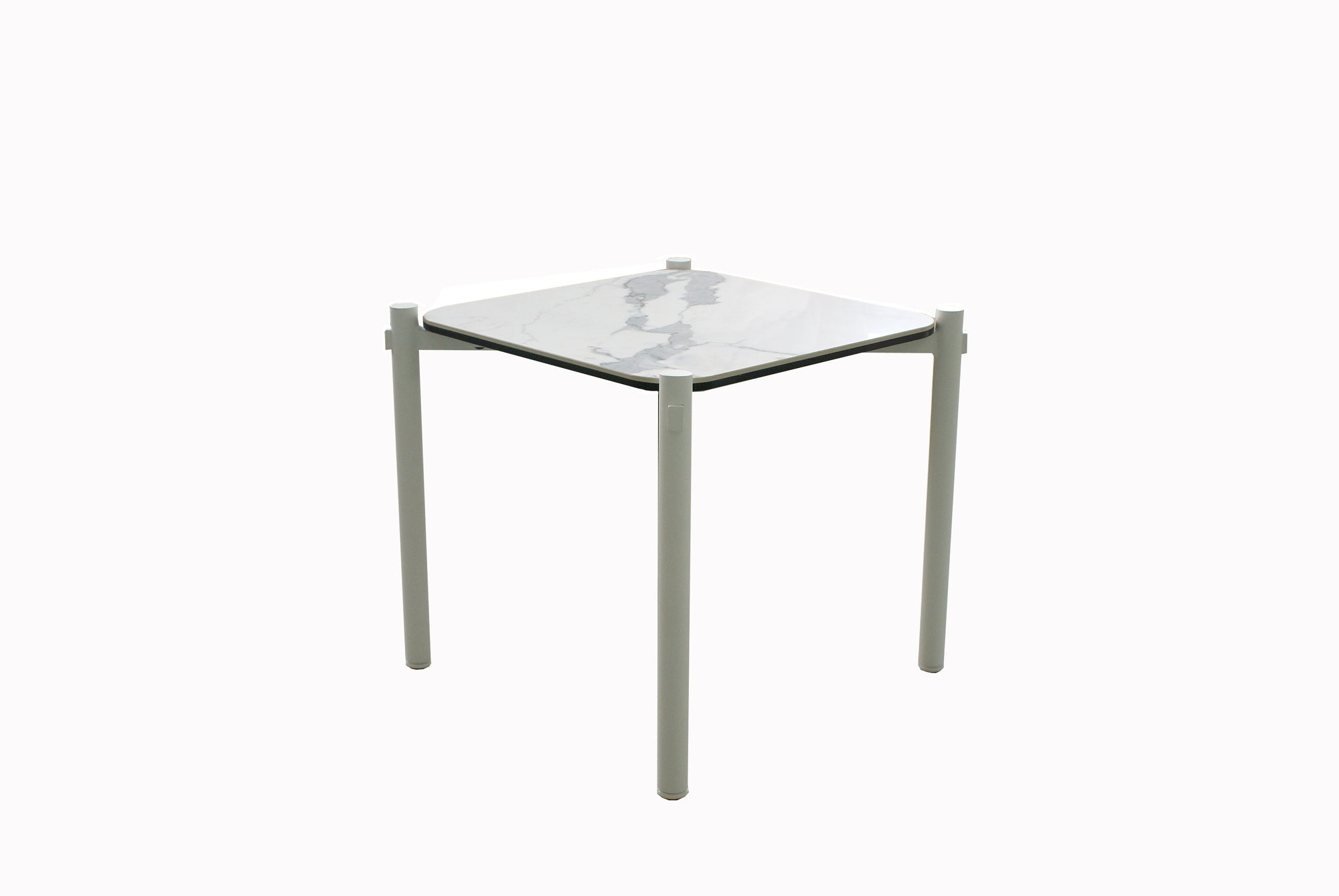 buy La Vie Side Table - White online