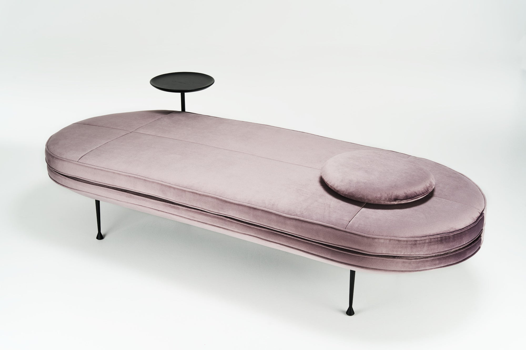 Canoe Daybed Soft Pink