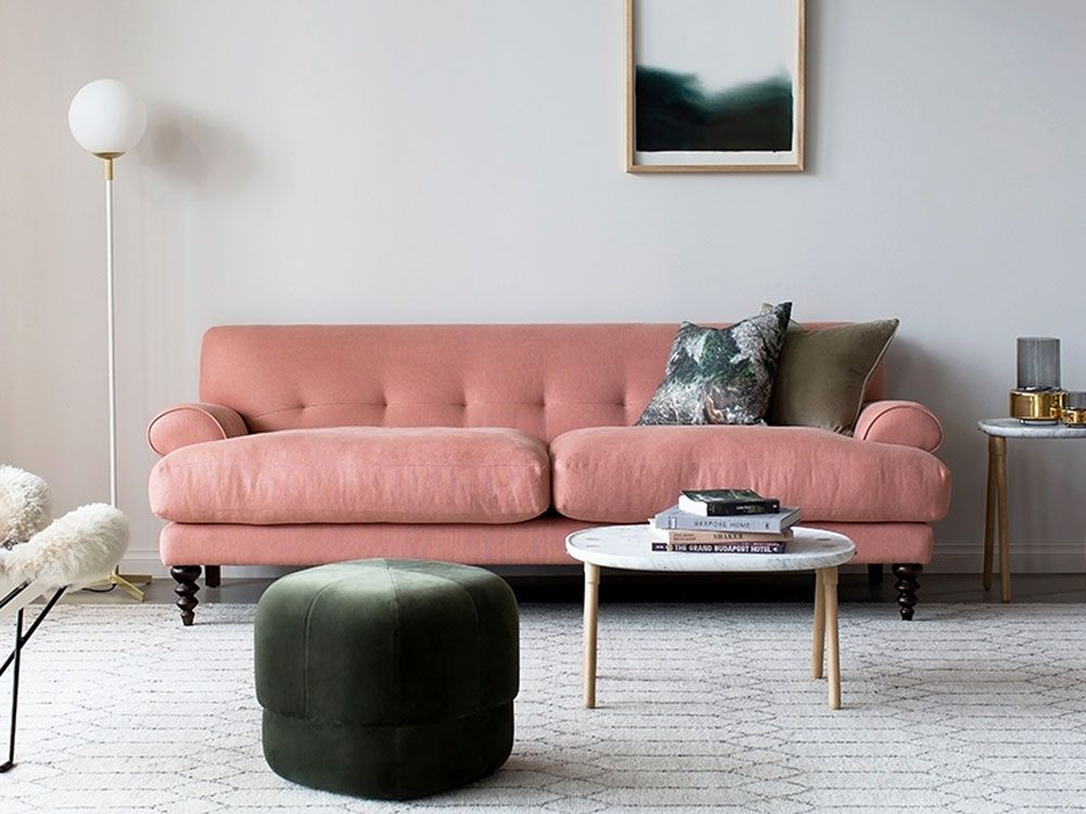 Francis Sofa in Old Rose