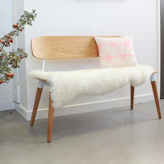 Sean Dix Copine Bench Oak/White