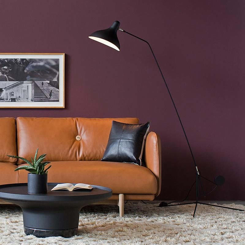 buy Mantis Floor Lamp Black online