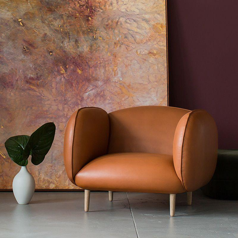 Mellow Chair in Buttero Cuoio Leather