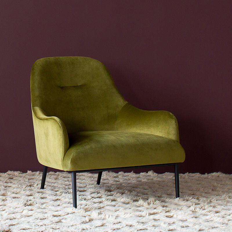 Anders Chair in Chartreuse