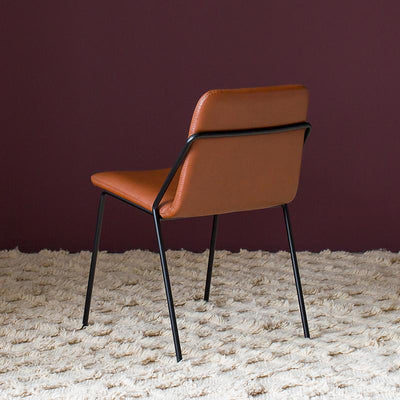 Max Chair in Tan Leather