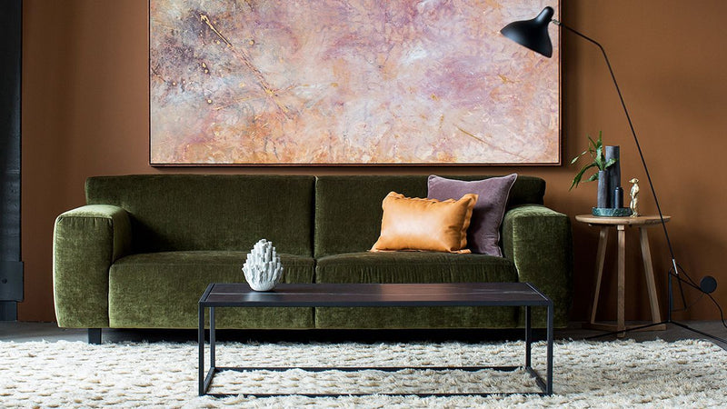 Moln 3 Seater Sofa in Forest Velvet