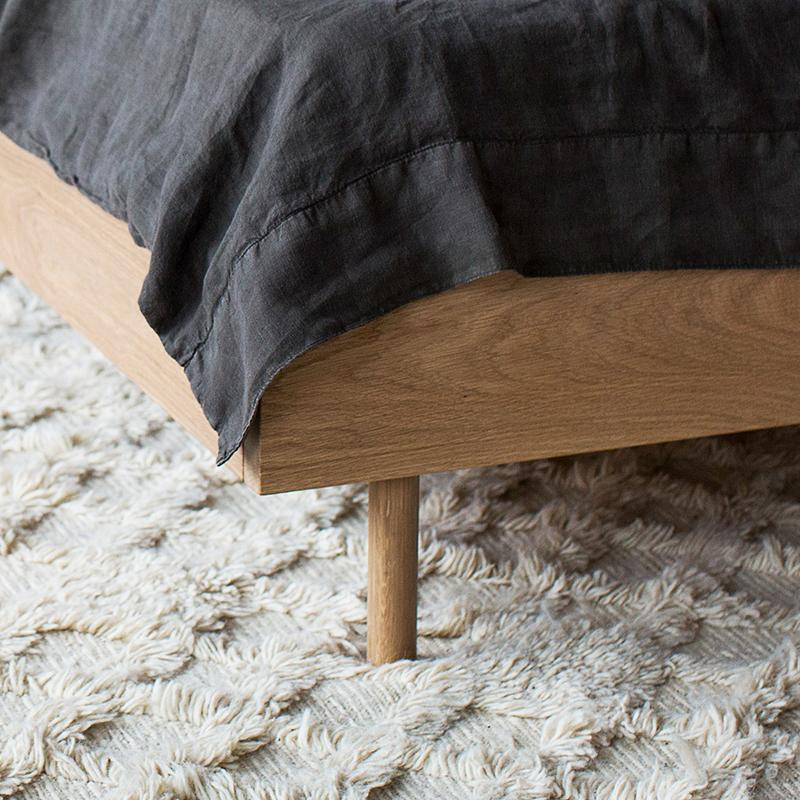 buy Exclusive - Linear King Bed in Oak online