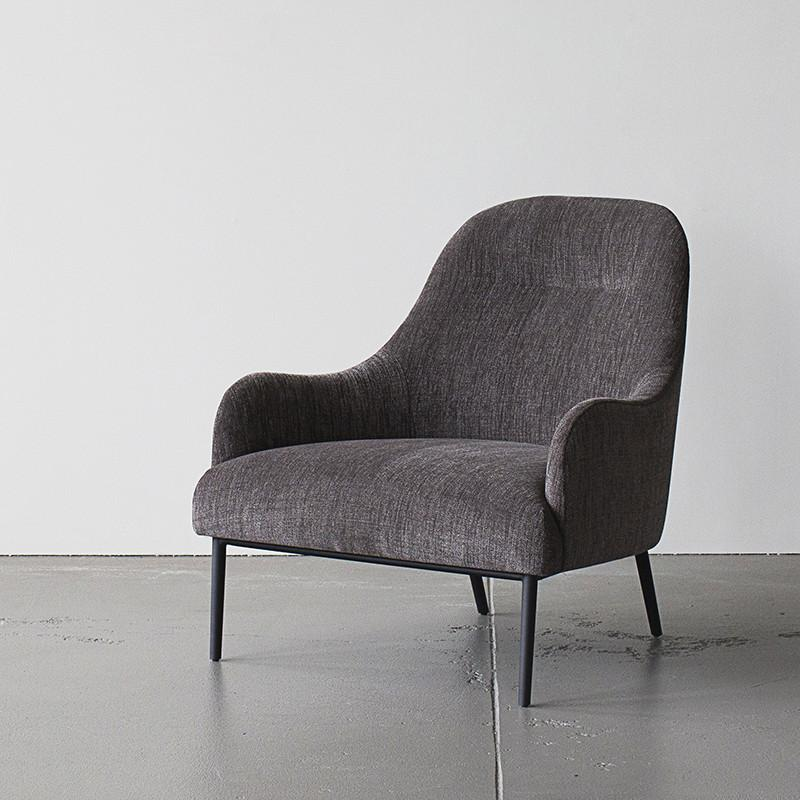 Anders Chair in Dark Grey