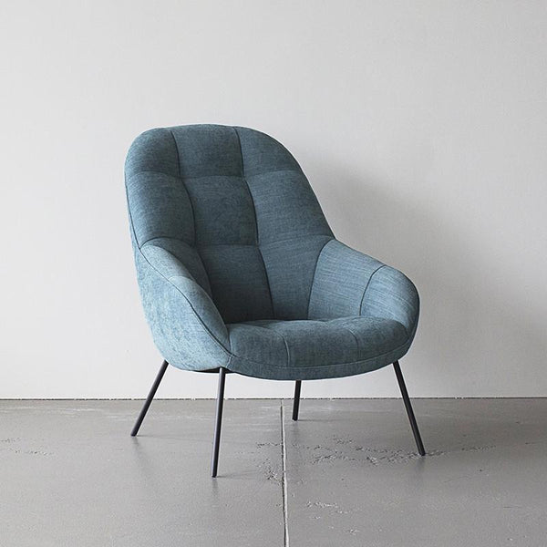 mango chair in soft teal curious grace