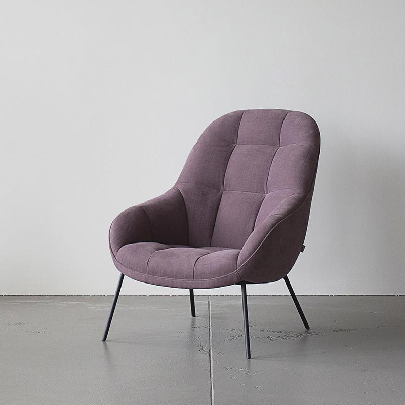 Mango Chair in Plum