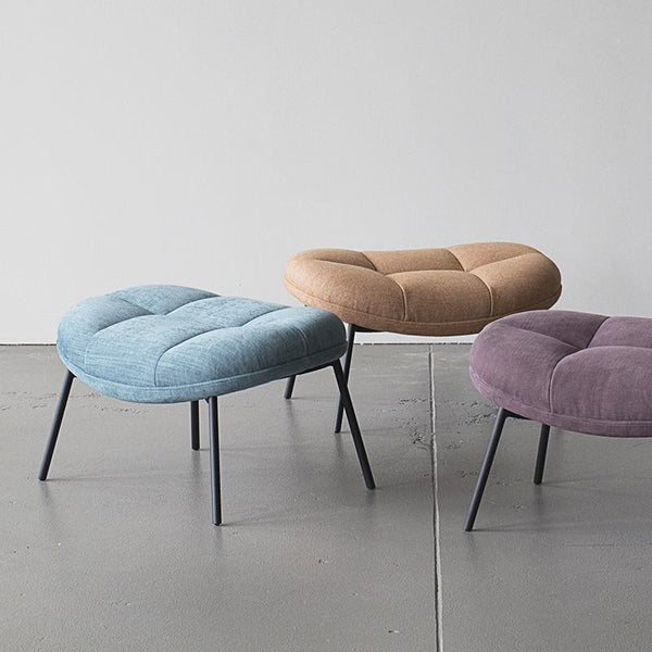 Mango Stool In Plum Curious Grace