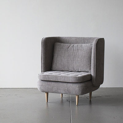Vena Chair in Doe Grey