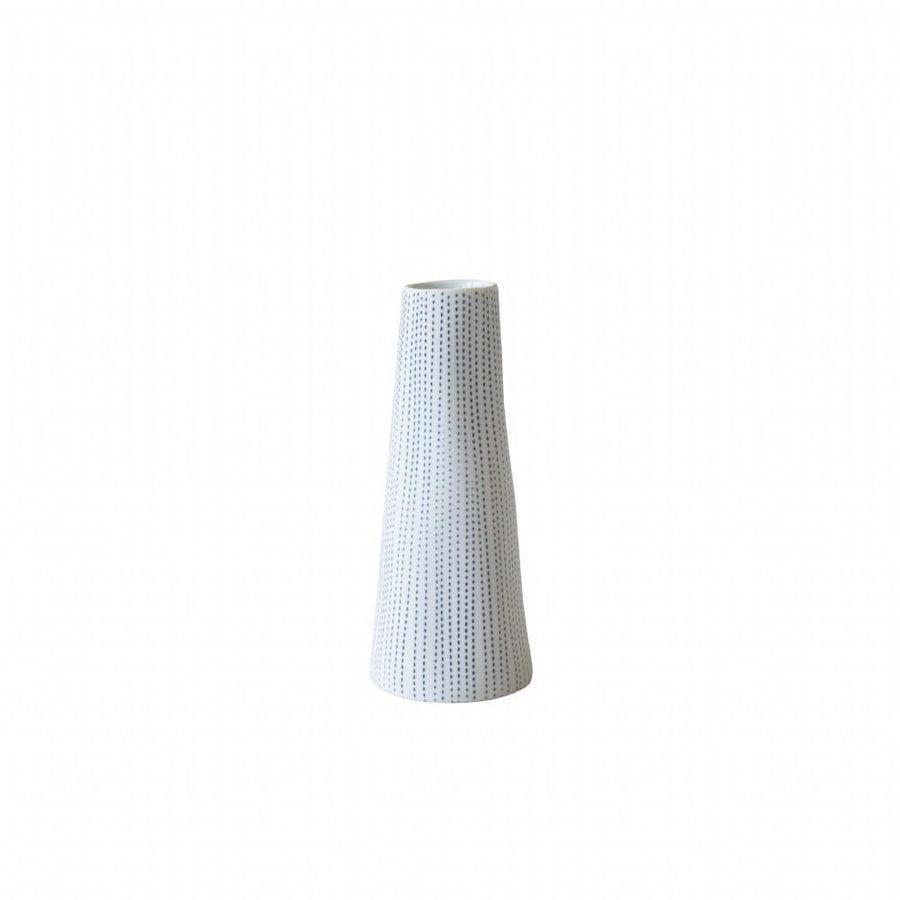Small Koza Vase - Blue/White