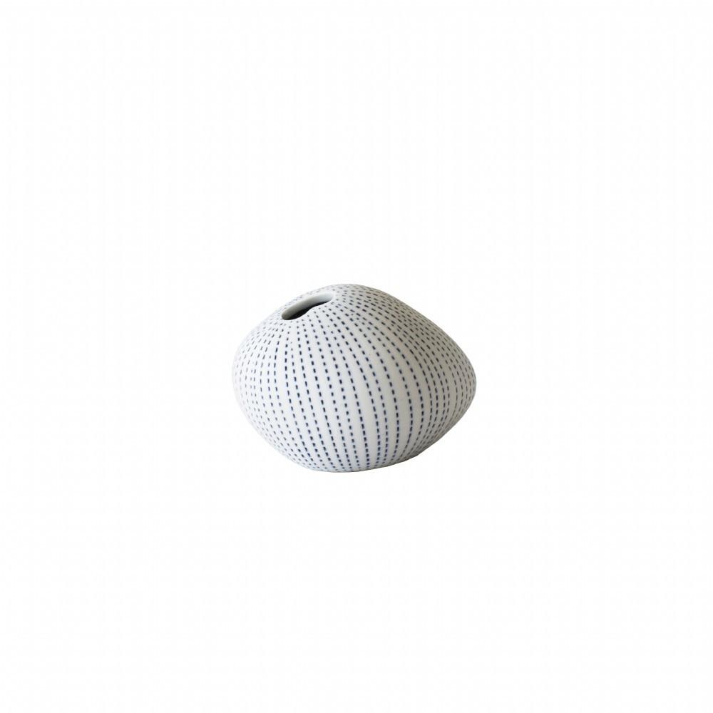 buy Mini Pebble Vase - Blue/White online
