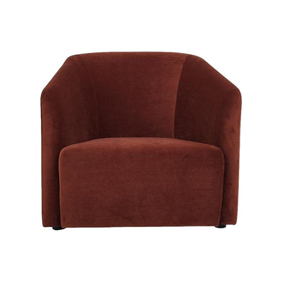 buy Hub Lounge Armchair in Autumn Tan Velvet online