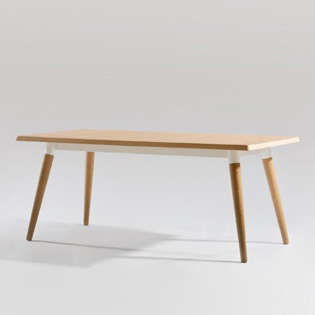 Original Sean Dix Forte Coffee Table Round Glass: Dining Tables In Solid And Recycled Timbers