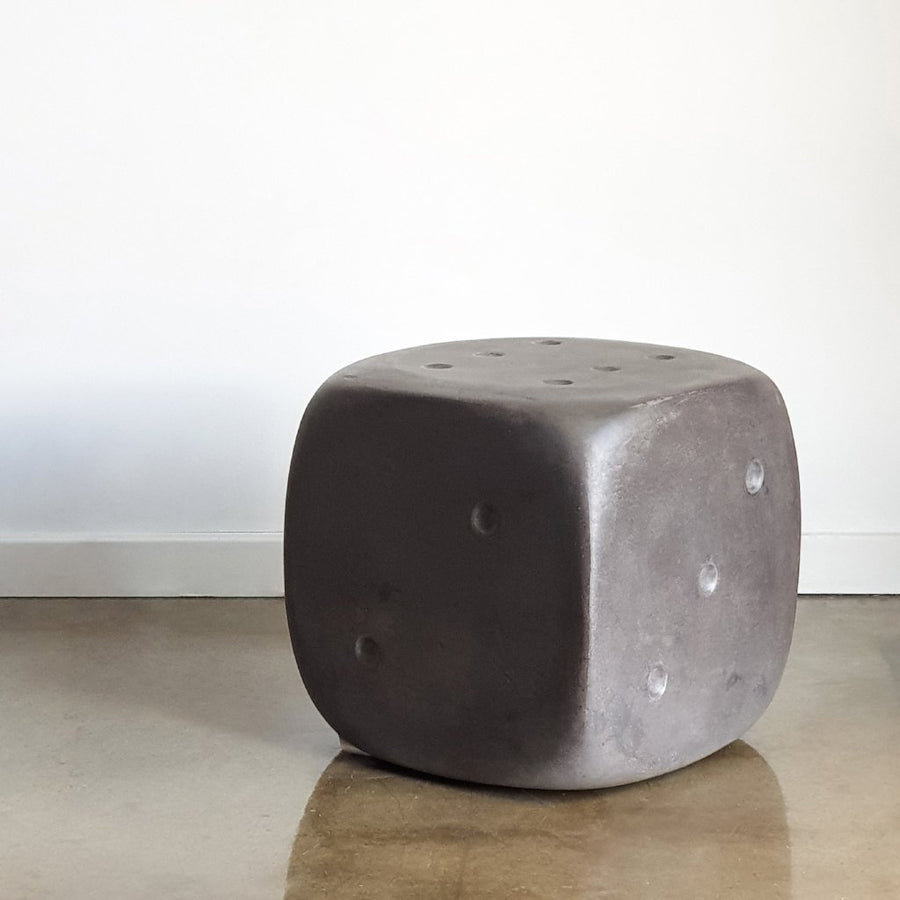 Concrete Dice Stool