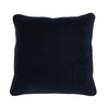 100% Cotton Navy Velvet Cushion