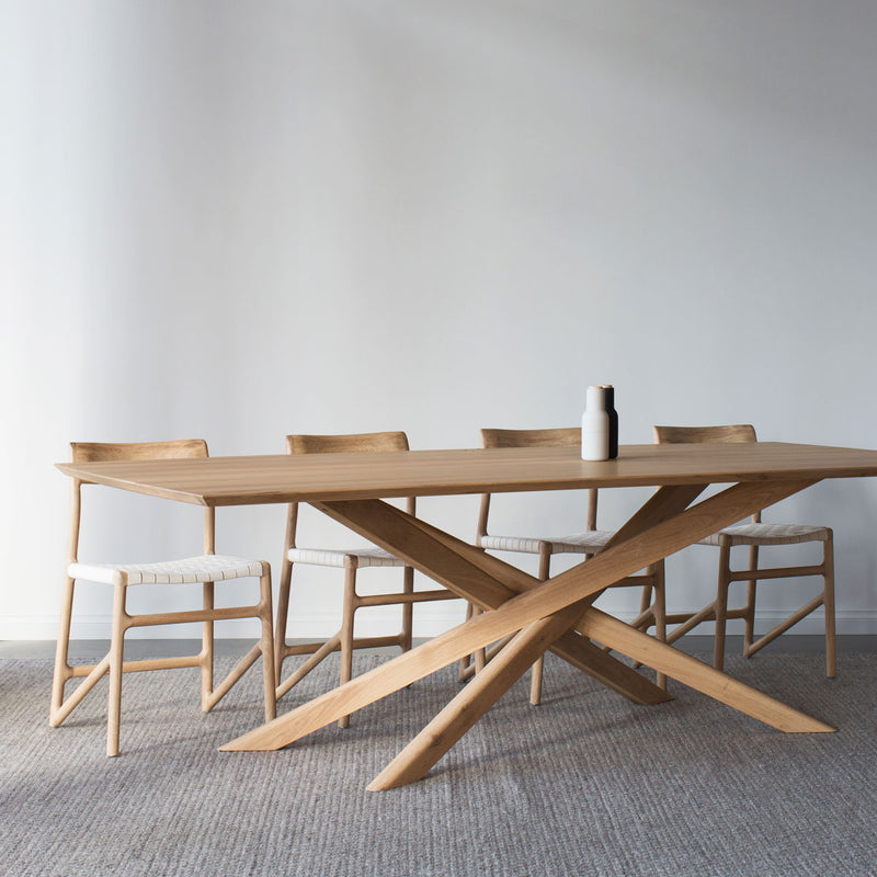 buy Ethnicraft Oak Mikado Dining Table online
