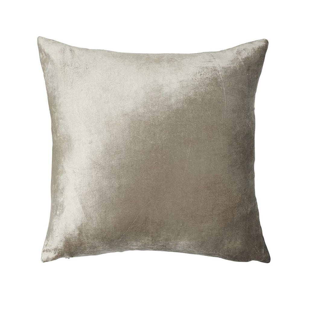 buy Metallic Velvet Cushion - Soft Gold online