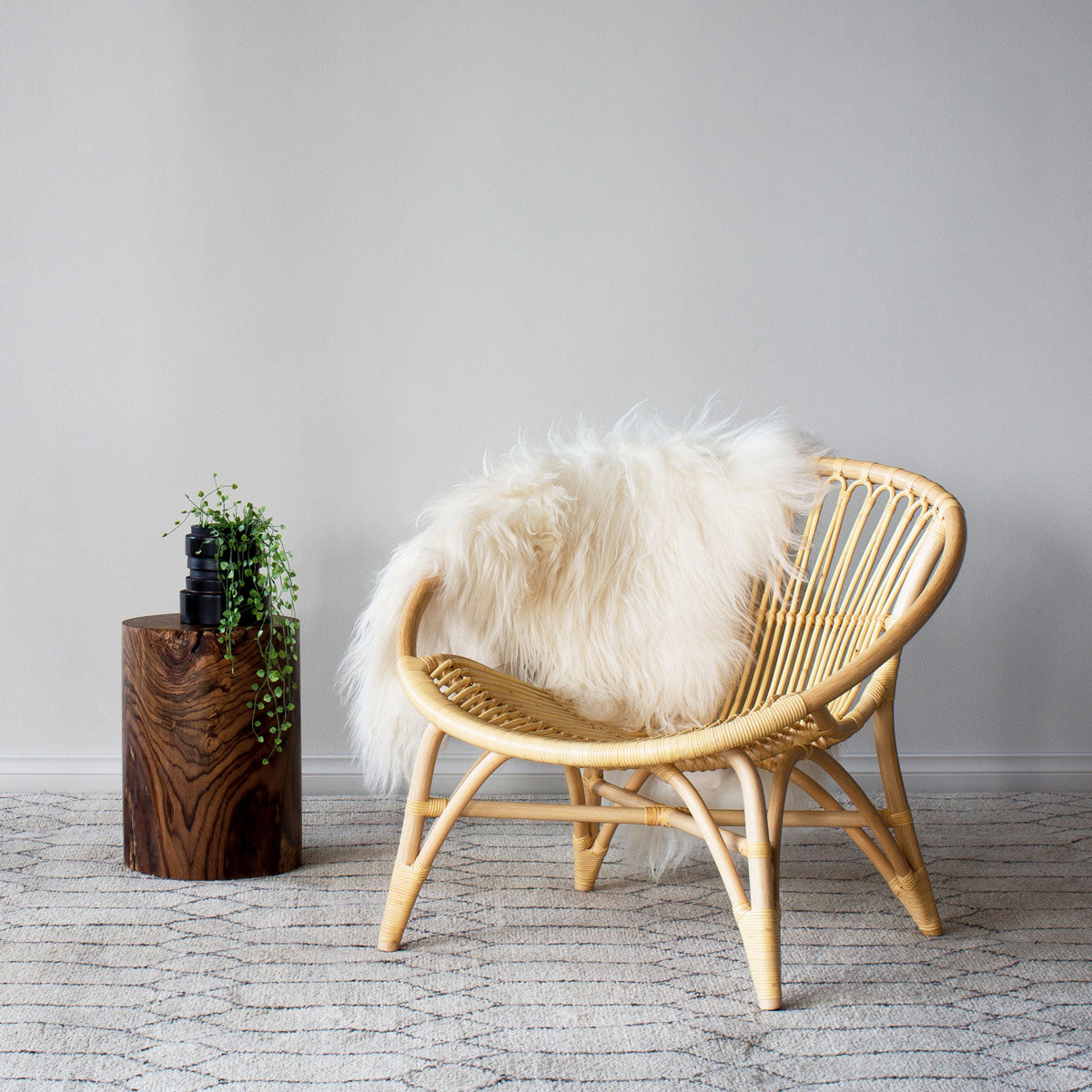 buy Easy chair in Natural Rattan by Feelgood Designs - Designed by Yuzuru Yamakawa online