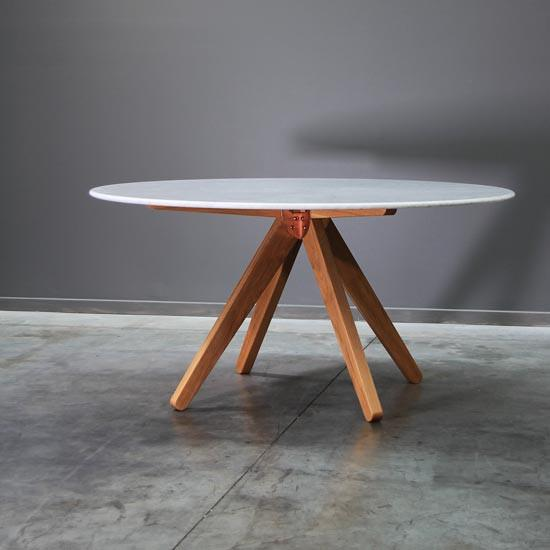 Round Marble Dining Table - Curious Grace
