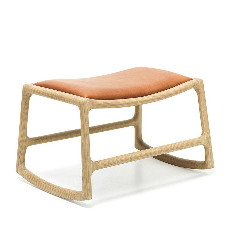 buy Dedo Footstool - Dakar Whisky Leather online