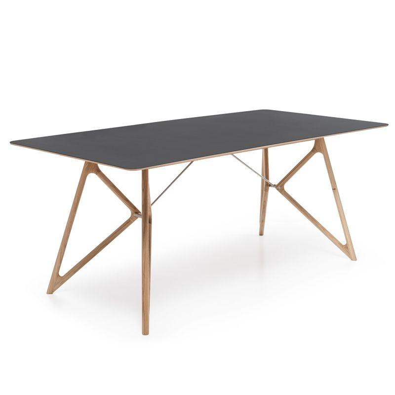 Tink Oak Dining Table - Nero