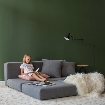 Lila Sofa Bed - Pewter